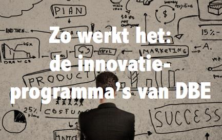 De innovatieprogramma's van DBE